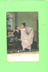 F-POSTCARD-LOVERS-MEN-AND-WOMAN-BEAUTY-VINTAGE-POST-CARD