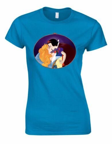 Gay Fairytale Lady Woman Cut Tshirt Tee Top AA93