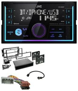 JVC-AUX-2DIN-USB-MP3-Bluetooth-Autoradio-fuer-Chrysler-PT-Cruiser-300C-Dodge-Jeep