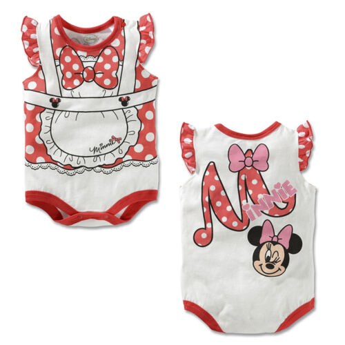 Toddler Baby Boy Girl Romper Cartoon Bodysuit Sunsuit Summer Outfit Sets Clothes