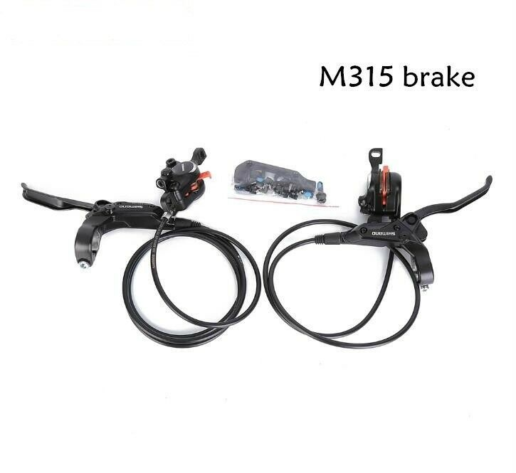 SHIMANO BR-M315 Hydraulic Disc Brake Mountain Bike Calipers Left  & Right Lever  world famous sale online