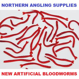 TORUS Artificial BLOODWORM Hook Skins Carp Coarse Fishing Blood 30PCS