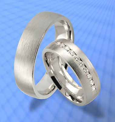 Modestil Exklusive Trauringe Eheringe Silber 925 & Gravur Jk4-10 Herausragende Eigenschaften