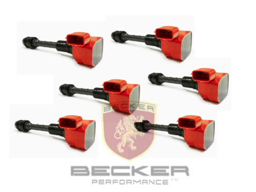 6PCS Becker Ignition Coil For 03 To 13 Infiniti FX35 G35 M35 M35h Nissan 350Z