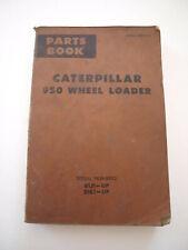 Caterpillar Cat 950 Front End Wheel Loader Parts Book Catalog Manual List 71
