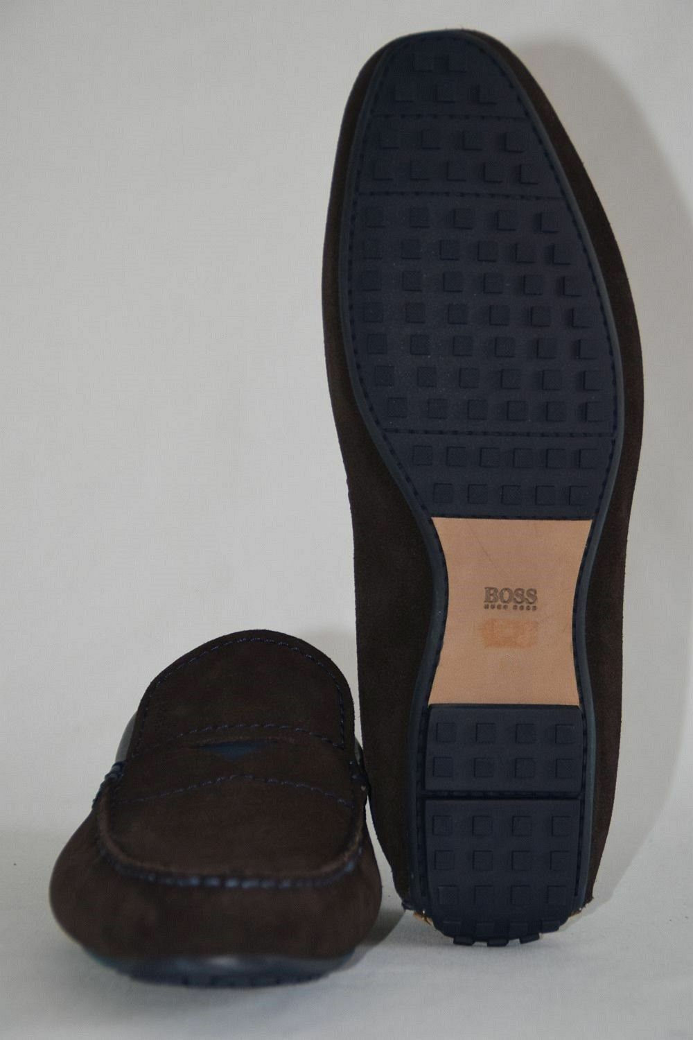 HUGO BOSS MOKASSINS, Gr. EU 43 / UK 9 / / 9 US 10,   , Dark Braun 460ba7