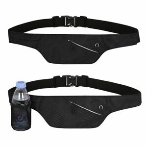 Running-Belt-Fanny-Pack-Bum-Bag-with-Water-Bottle-Holder-and-Earphone-Outlet