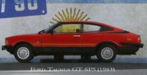FORD Taunus GT SP5 - 1983 - red - Atlas 1:43