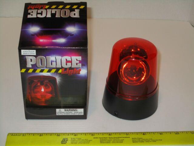 Rotating Red Flashing Beacon Party Lamp DJ Strobe Light