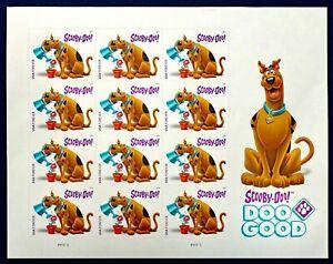 "Scott US #5299 - 2108 Commemorative Sheet; ""Scooby-Doo"" 12 Stamps, **FREE SHIP**"