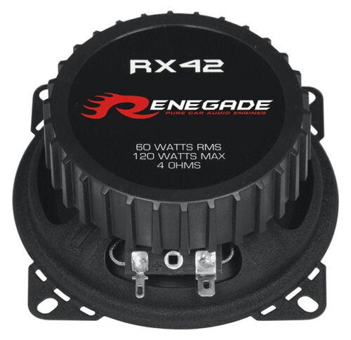 Renegade altavoces 10cm renrx 42 100 mm triax altavoces