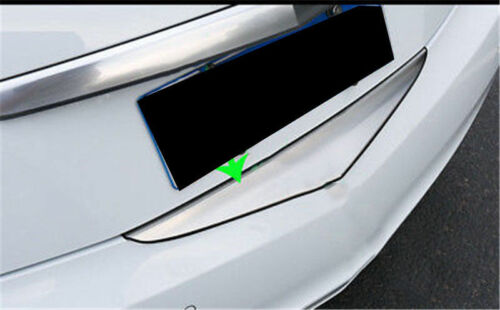 Details about  /1pcs Outer Rear Bumper Protector Sill Plate Cover For Cadillac XTS 2013-17