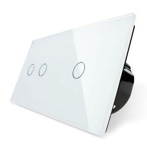 CRISTAL-TOUCH-Interruptor-de-pared-3-lichtkreise-C702-c701-11-Blanco-LIVOLO
