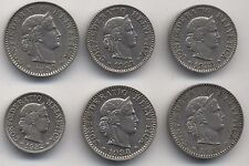 Selection Of High Grade Switzerland Rappen Coins***Collectors***(S2)