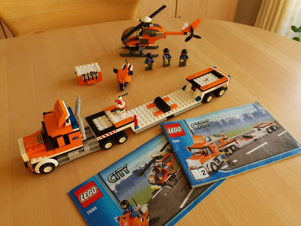 Lego City, 7686 Helikoptertransporter