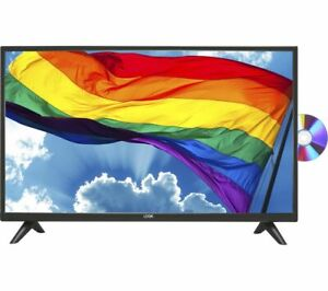 """LOGIK L32HED20 32"""" LED TV FREEVIEW HD TUNER HD READY BUILT-IN DVD PLAYER HDMI"""