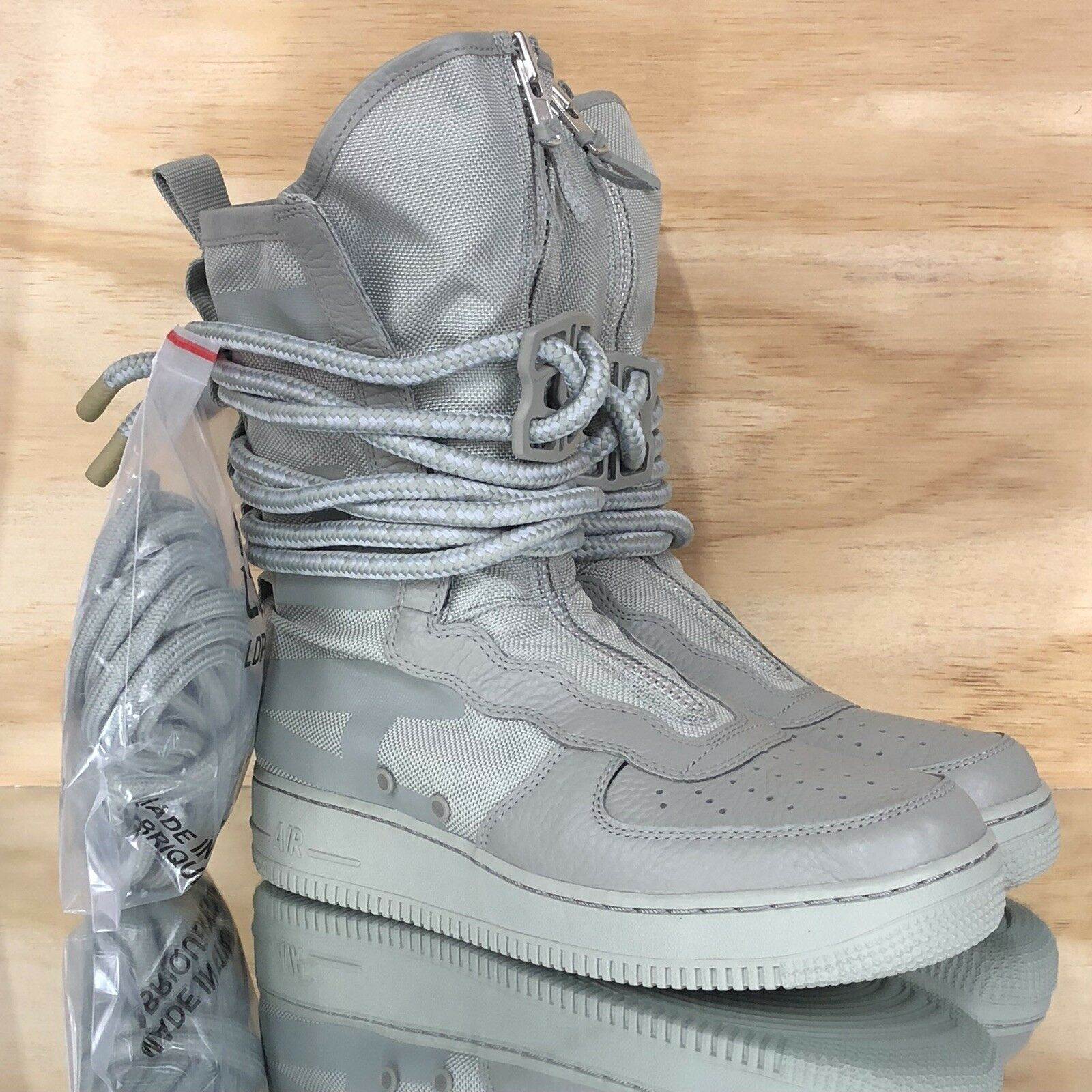 Nike Special Field Air Force 1 SF AF1 High Green Sage shoes [AA1128-201] Size 9