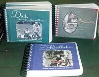 Memory Journals--a Daily Journal Of Childhood Memories Of Mom Or Dad Or Friend