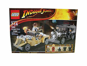 LEGO INDIANA JONES MINIFIGURE WILLIE SCOTT FROM SET 7682 SHANGHAI CHASE