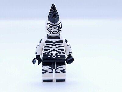 ZEBRA MAN LEGO MINIFIGURE SH323 WHITE BLACK STRIPES BATMAN ...