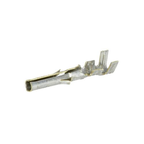 """32X 02-06-1101 Kontakt weiblich 24AWG-18AWG Standard .062/"""" verzinnt 3,68mm MOLEX"""