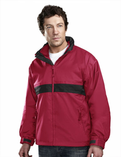 7950 Tri-Mountain Men/'s Nylon Waterproof Full Zip Outerwear Hooded Shell Jacket