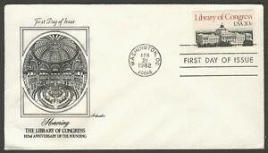 #2004 20c Biblioteca De Congreso, Artmaster FDC Cualquier 5=