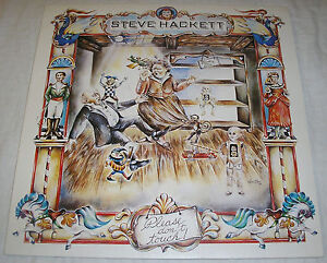 Steve-Hackett-Please-don-039-t-Touch-Made-in-West-Germany-Vinyl-LP-Album