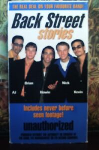 VHS-Movie-Back-Street-Boys-Stories-Unauthorized-Visual-1998