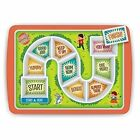 Fred Dinner Winner Kids Plate Board Game Fun for Fussy Eaters Divided Tray