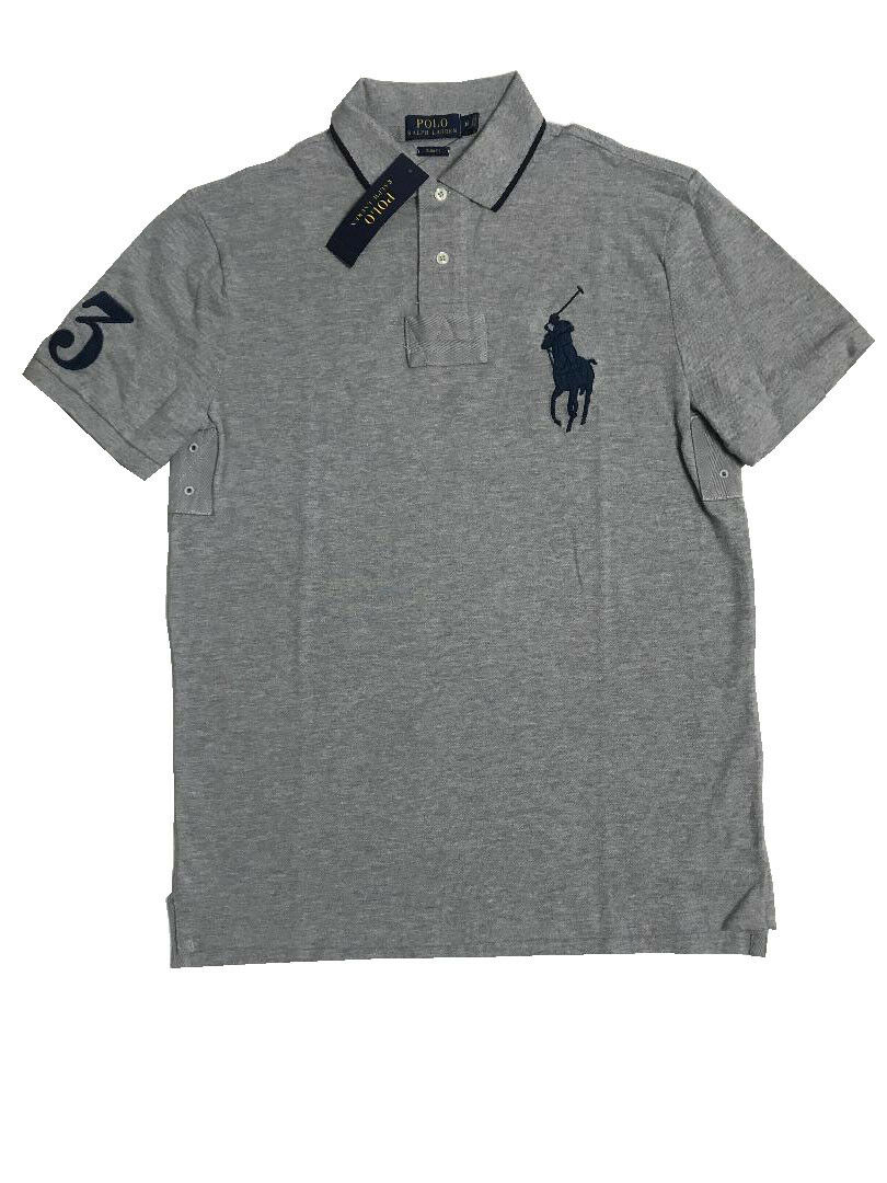 Ralph Lauren Custom-Fit Mesh Polo -