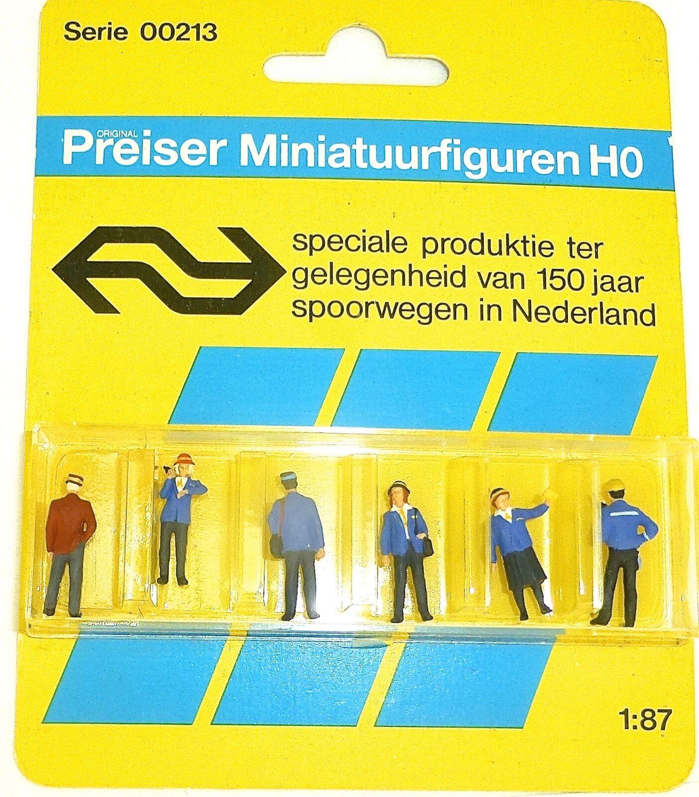 Speciale Produit 150 Jaar Spoorwegen Pays-Bas Preiser 00213 H0 1 87