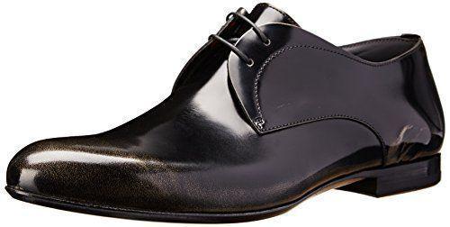 Hugo Boss cuero señores con cordones evamo 44 nuevo zapatos derby dress zapatos 10 11
