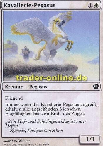 Theros Magic 4x Kavallerie-Pegasus Cavalry Pegasus