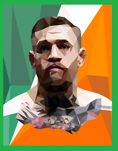 Conor-McGregor-Pop-Art-Ireland-Poster-Print-Glossy-8x10-Hologram-The-Notorious