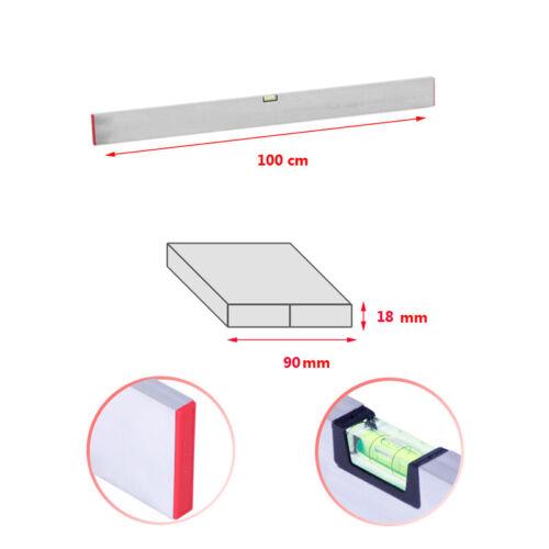 Richtlatte 100-200cm Setzlatte Alu Aluminium Estrichlatte Abziehlatte Richtschei