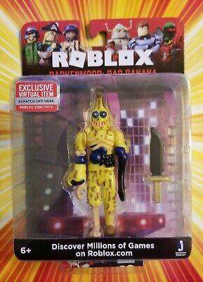 Roblox Darkenmoor Bad Banana Action Figure Mix Match
