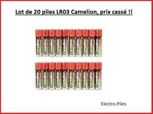 Lot-de-20-Piles-Camelion-Alcaline-Plus-AAA-LR03-prix-casse