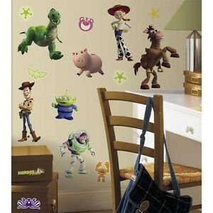 Image Is Loading New TOY STORY WALL DECALS Buzz Lightyear Woody