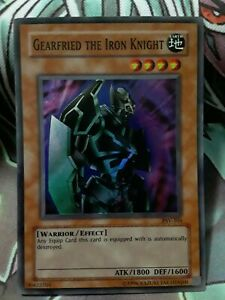 Gearfried the Iron Knight PSV-101 Unlimited Edition Super Rare NM Yugioh