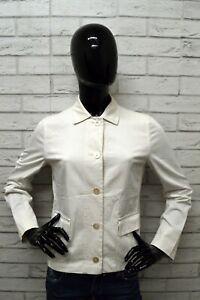 Giacca-MAX-MARA-Donna-Taglia-Size-M-Cappotto-Giubbino-Jacket-Woman-Coat-Elastico