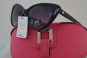 DG Sonnenbrille Promi Holiday braun Giselle Cateye Collection + oranges Etui 12 eJy35