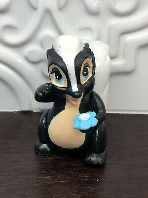 Bambi Flower Skunk McDonald/'s Happy Meal Toy 1980s