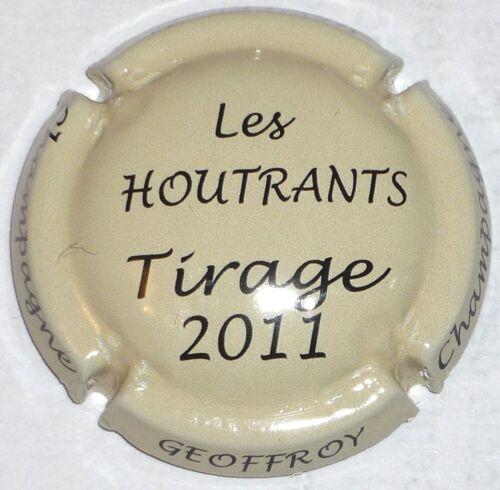 non réf !!! les Houtrants GEOFFROY tirage 2011 Capsule de Champagne: New !!