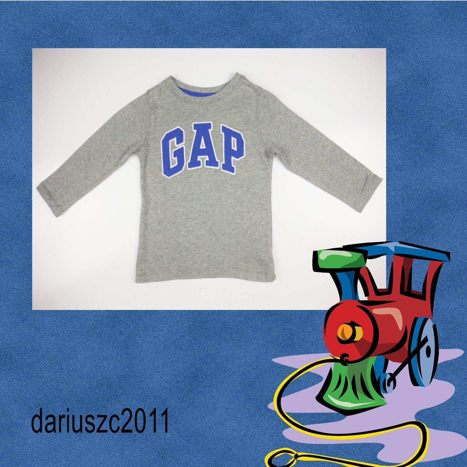 NWT BABY GAP BOYS LOGO SHIRT baseball raglan sleeves navy blue gold  u pick size