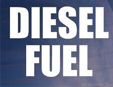 DIESEL FUEL Warning Vinyl Sticker/Decal - Ideal for Car/Truck/Van/Boat/Generator
