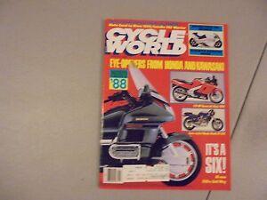 JANUARY-1988-CYCLE-WORLD-MAGAZINE-SUZUKI-KATANA-1100-HONDA-XR600R-YAM-350-MOTO-L