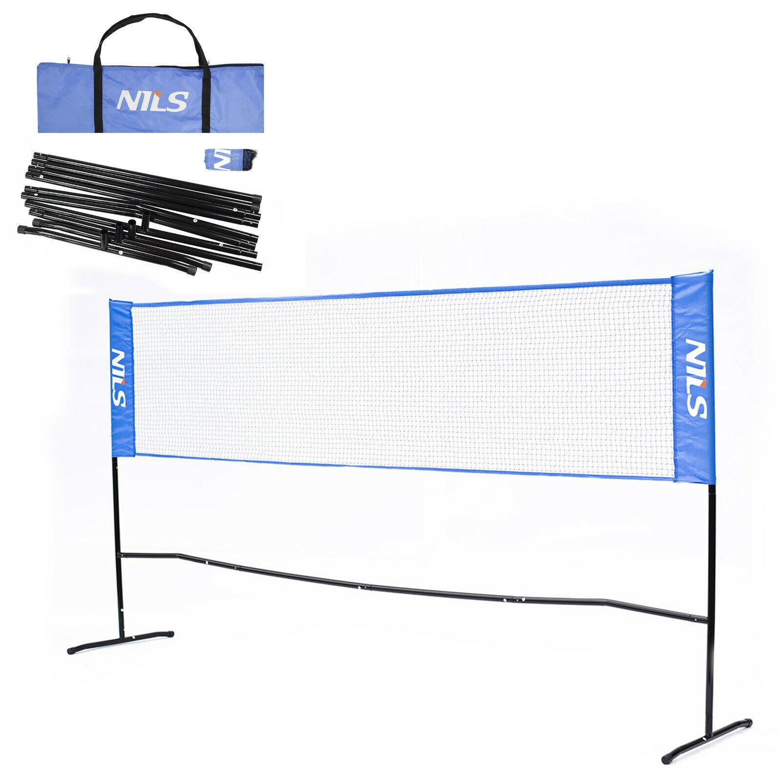 Nils Badmintonnetz Garten Federballnetz 3m 3m 3m Volleyballnetz Tasche Federball Netz e3dbf1