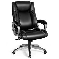 Giantex Executive Big Amp Tall Office Chair High Back Task Chair With Lumbar Support
