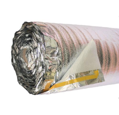 Thermo-Alu-Folie Abdeckung, Trennunterlage, Dämmunterlage, Alu, Thermo-Combi